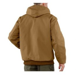 Talos Ballistic NIJ IIIA Bulletproof Hooded Raptor Jacket (Color: Brown, size: Small)