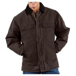 Talos Ballistics NIJ IIIA Bulletproof Kodiak Farm Coat (Color: Dark Brown, size: Small)